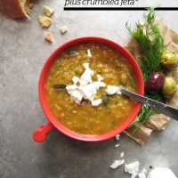 Recipe of the Week: Lemony Lentil Soup with Dill and Feta