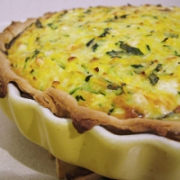 Recipe of the Week: Zucchini, Feta and Basil Quiche