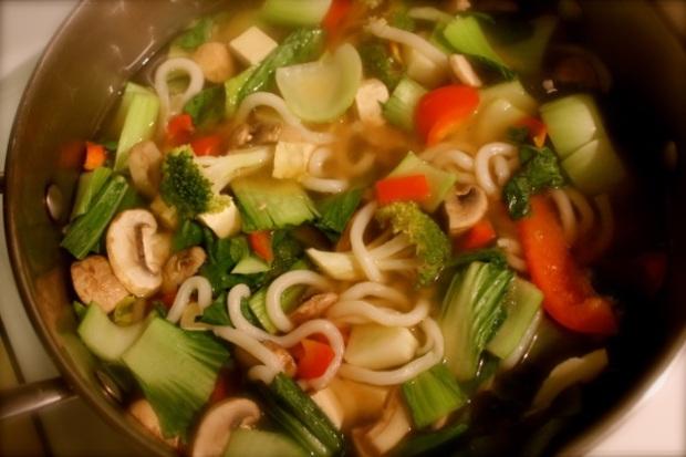 One Pot Winter Warmer Green Soup