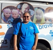 A picture with the BC Children's van