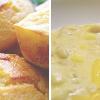 Recipe of the Week: White Chicken Chili with Cornbread Muffins