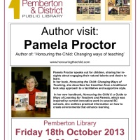 Event: Pamela Proctor, Author Visit at the Library