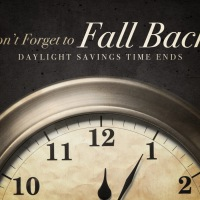 Daylight Savings Reminder: Fall Back tonight