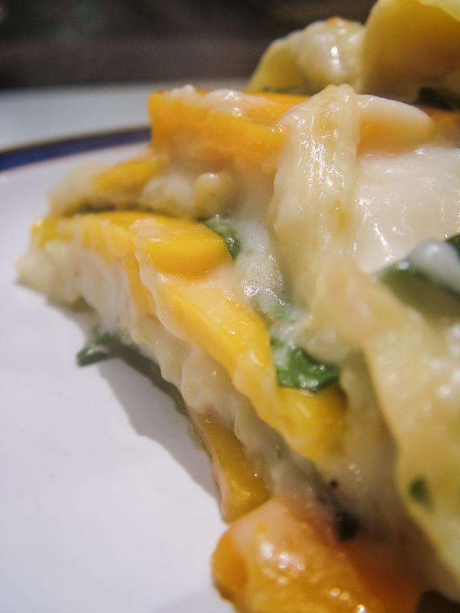Squash & Kale Lasagne