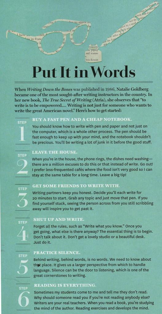 Wellness Tip: Try Writing – The Wellness Almanac