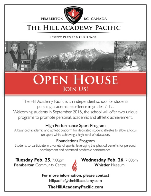 Hill Academy open House