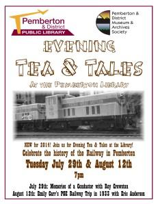 Evening Tea & Tales