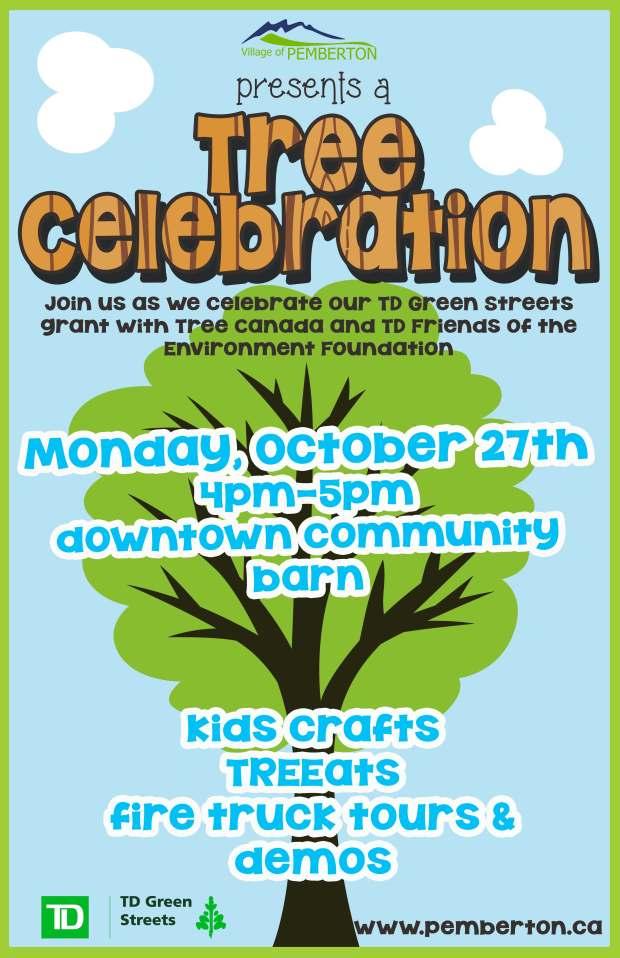 Tree Celebration Poster
