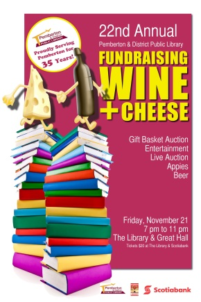 Library Wine and Cheese Nov 21 2014