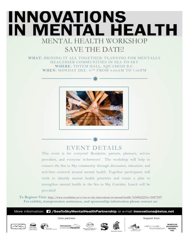 Mental Health workshop dec 8