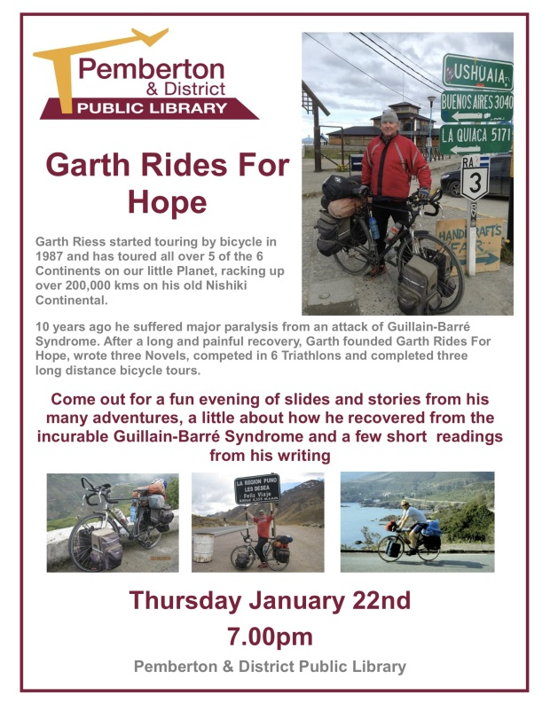 garth's ride for hope