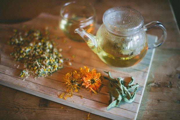 chamomile, Lemon Verbena  other fab herbals for kids