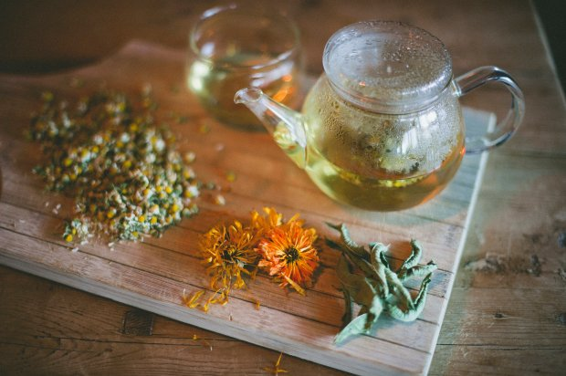 chamomile, Lemon Verbena  other fab herbals for kids