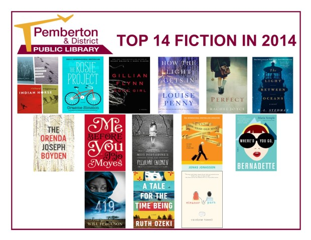 Top 14 Fiction -  2014