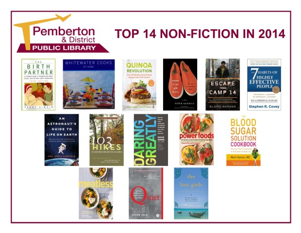 Top 14 Non-Fiction - 2014
