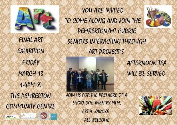 Seniors Interacting Through Art