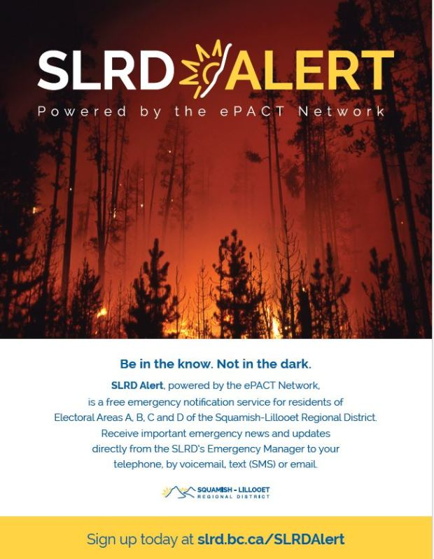 SLRD Alert. Be in the know, not in the dark.