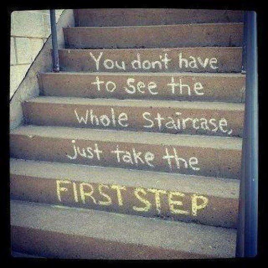 Change-the-first-step-staircase