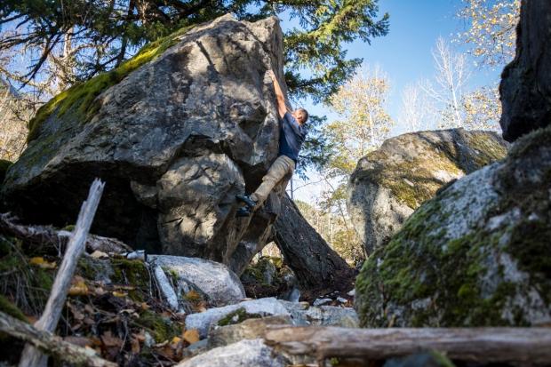 Birkenhead boulder