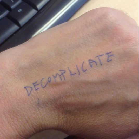 decomplicate