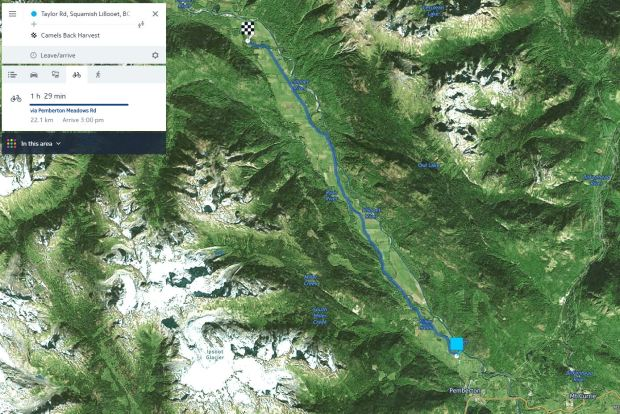 Slow Food cycle closure map