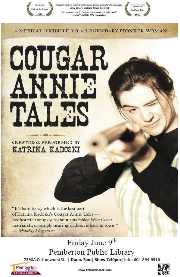 Cougar Annie tales