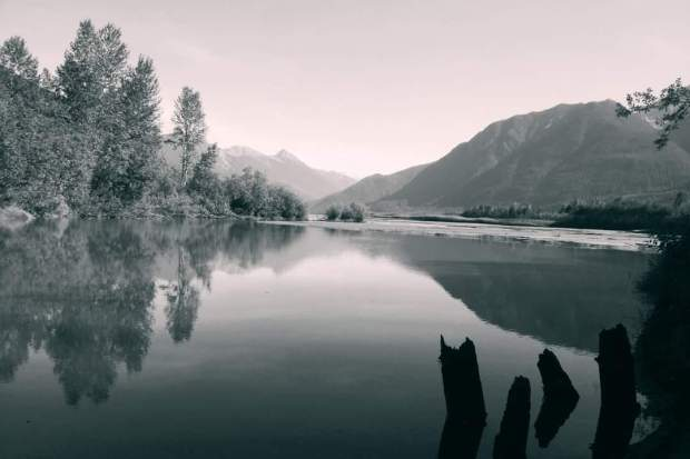 Photo taken at Lillooet Lake by Dana Andrew