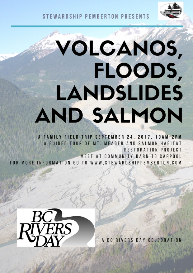 2017 BC Rivers Day Poster
