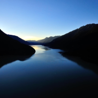 Lillooet Lake in the evening evokes its own magic. Photo by Dave Steers