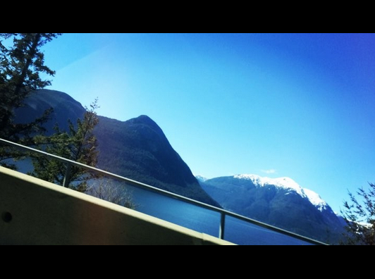 Sea to Sky highway by Riva Fisher