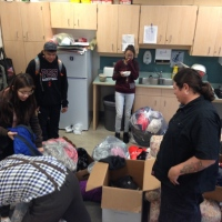Warm Clothing Drive - clean out your closets of warm waterproof gear by December 15