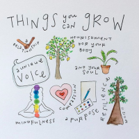 Put your energy into things that can grow