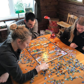 puzzles at the beks homestead