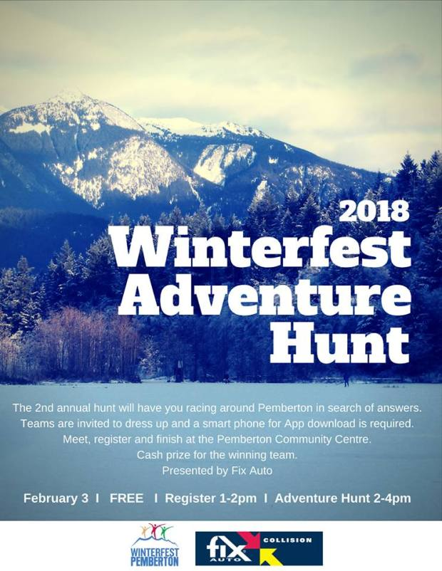 winterfest hunt feb 3