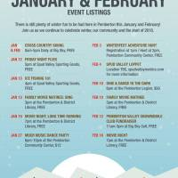 The ongoing Winterfest schedule: a season-long line-up of wintery fun