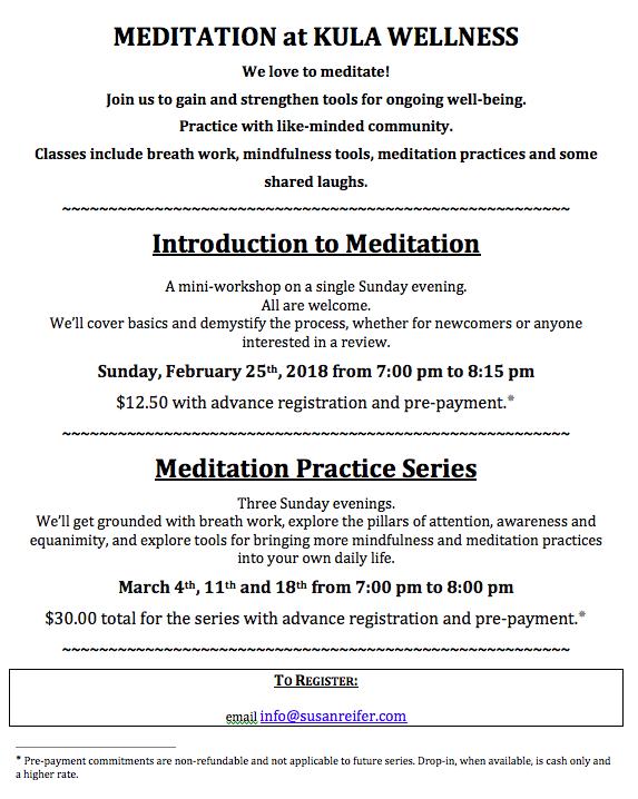 Kula meditation
