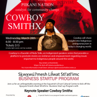 Move over TED. Redx Talks are here. And their founder, Cowboy Smithx is speaking at the SLCC, March 28