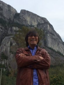 Richard Wagamese in Squamish