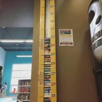 Help fill the Library's book thermometer and fund the redesign