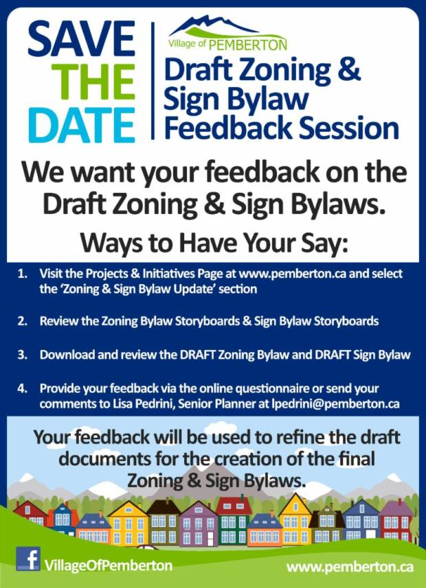ZoningSign Bylaw Review Consultation