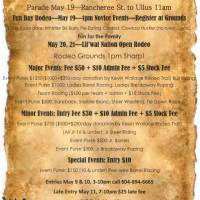 Everyone is welcome at this weekend's Lillooet Lake Rodeo, May 19-21 2018