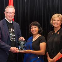 Lil'wat Nation and Murphy Construction win 2018 BC Economic Development Award