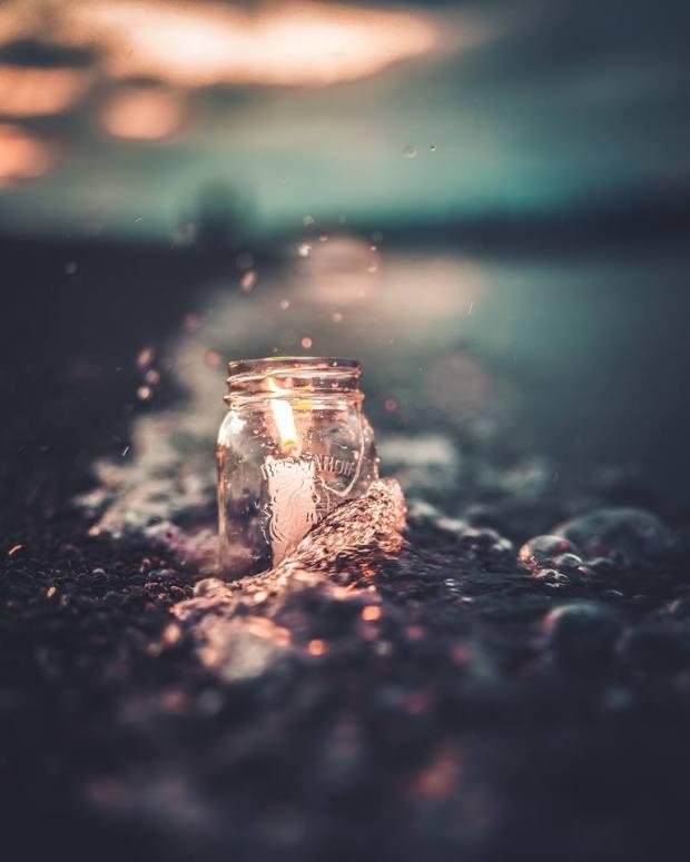 hope starts as a small flame by david ward