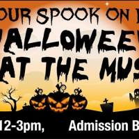 Pemberton Museum presents kids' Halloween event, Saturday October 27, 12 - 3