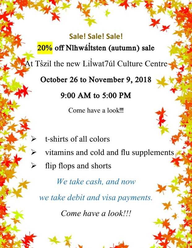 Autumn Sale 2018