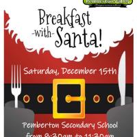 Pemberton Secondary Grads of 2019 host Breakfast with Santa, Saturday Dec 15, 8:30am - 11:30am