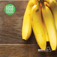 Never throw out a banana again! Zero Waste warrior tip: freeze 'em!!