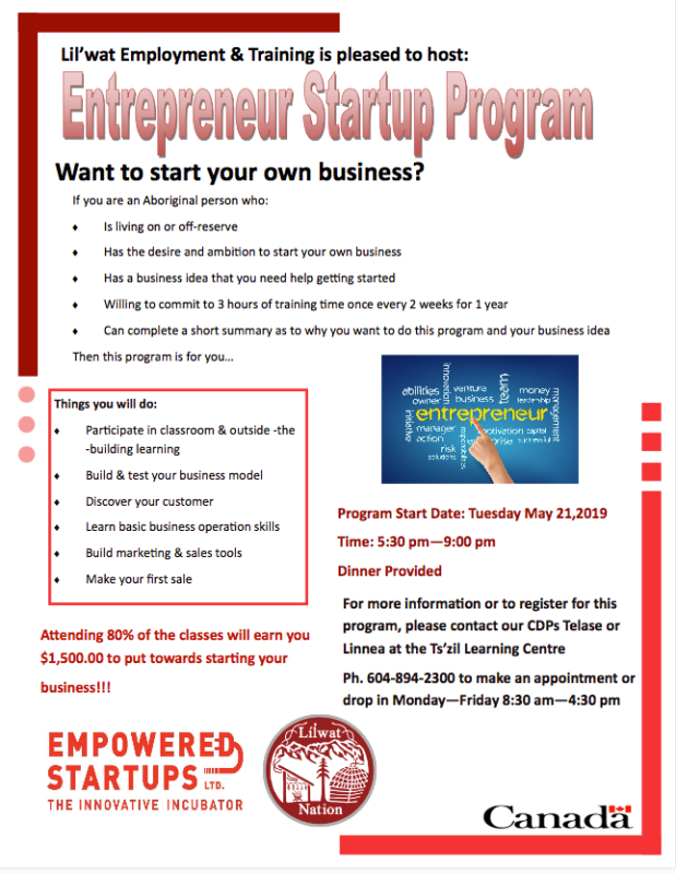 Entrepreneur program