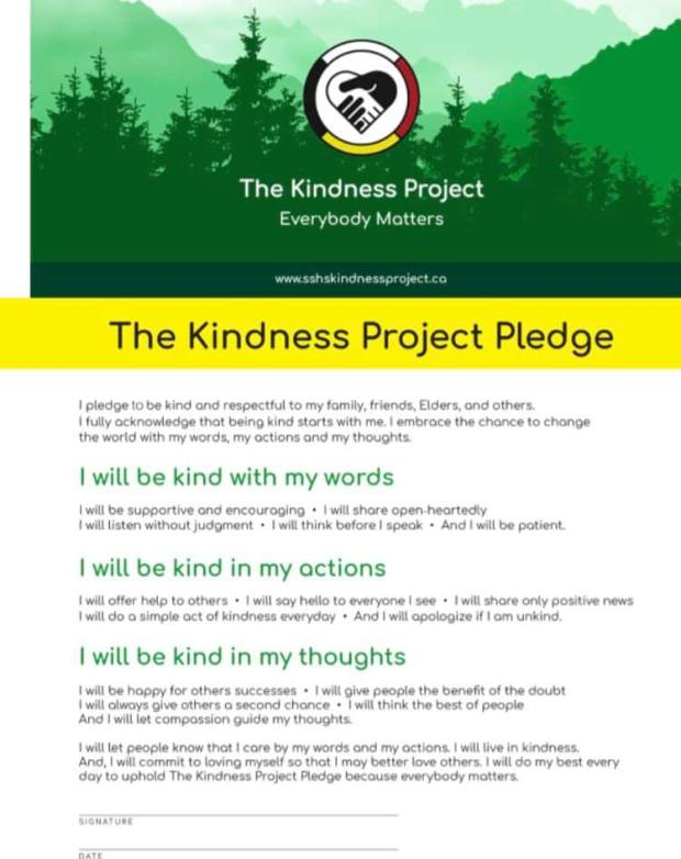 the kindness pledge