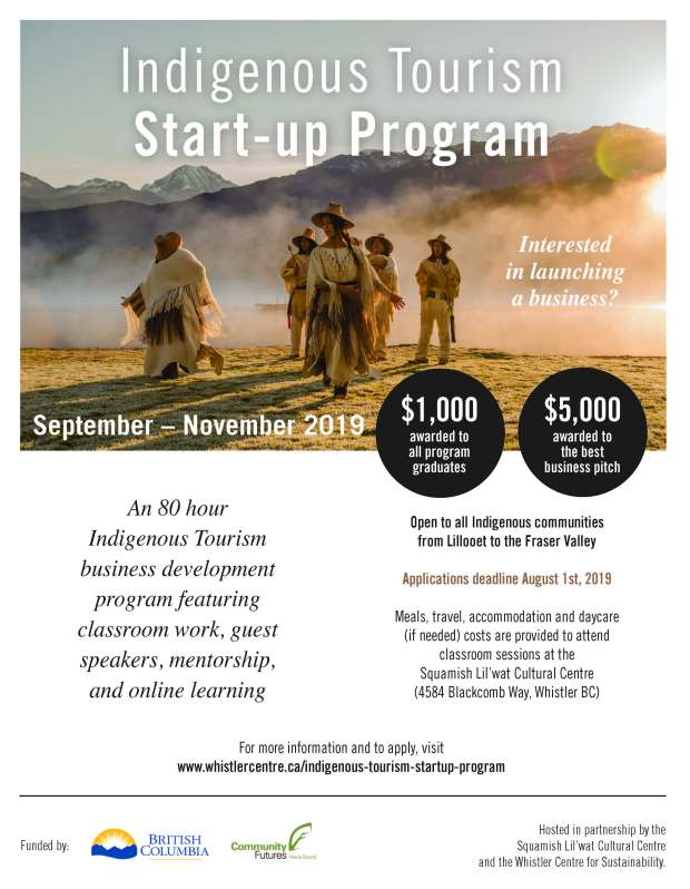 Indigenous Tourism Start Up Poster